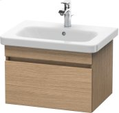Vanity Unit Wall-mounted, European Oak (decor)