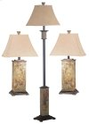 Bennington - 3 Pack - 2 Table Lamps, 1 Floor Lamp
