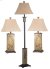 Additional Bennington - 3 Pack - 2 Table Lamps, 1 Floor Lamp