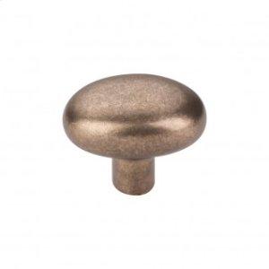 Aspen Small Potato Knob 1 9/16 Inch - Light Bronze