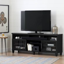 TV Stand for TVs up to 75'' - Black Oak