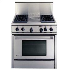 GE Monogram® Professional Cooktop Backguard Accessory