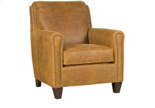 Austin Leather Chair, Austin Leather Ottoman