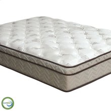California King-Size Lilium Euro Pillow Top Mattress