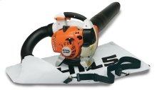 Stihl professional-grade shredder vac/blower with big power.