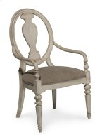 Belmar New Oval Splat Back Arm Chair Product Image