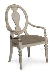 Belmar New Oval Splat Back Arm Chair