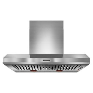 Kitchenaid48'' Wall-Mount 600-1200 Cfm Canopy Hood, Commercial-Style - Stainless Steel