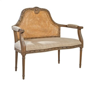 Upholstered Marquis Settee