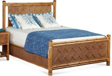 Summer Retreat Chippendale Bed