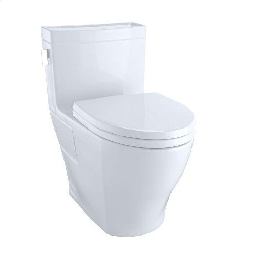 Legato One-Piece Toilet, 1.28GPF, Elongated Bowl - Cotton