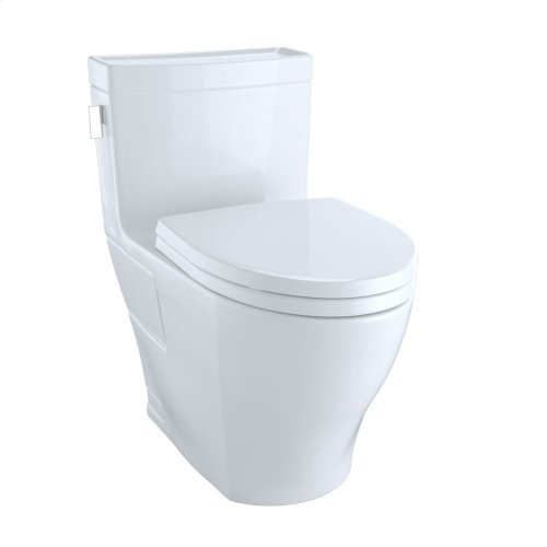 Legato™ One-Piece Toilet, 1.28GPF, Elongated Bowl - Cotton