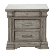 Madison Ridge 3 Drawer Nightstand in Heritage Taupe Product Image