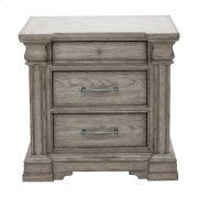 Madison Ridge 3 Drawer Nightstand in Heritage Taupe Product Image