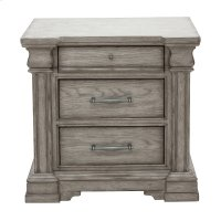 Ashlyn 3 Drawer Nightstand Product Image