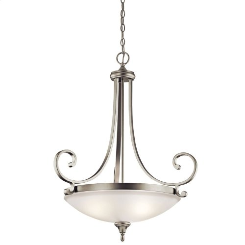 Monroe Collection Monroe 3 light Pendant NI
