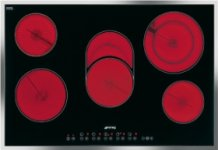"76CM (approx. 30"") Ceramic Cooktop Stainless Steel Frame"