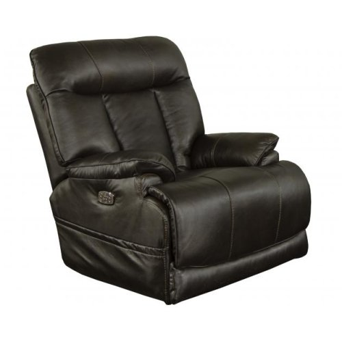 Power Headrest Power Lay Flat Recliner w/Extended Ottoman