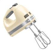 7-Speed Hand Mixer - Almond Cream Product Image