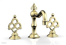 MAISON Widespread Faucet 164-01 - Polished Brass
