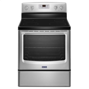 30-inch Wide Electric Range with Precision Cooking System - 6.2 cu. ft. - STAINLESS STEEL