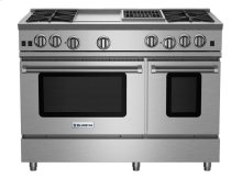 "48"" RNB Series Range with 12"" Griddle & Charbroiler"
