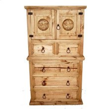 Mansion Door Chest 5dr W/star
