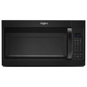 1.9 cu. ft. Capacity Steam Microwave with Sensor Cooking - BLACK