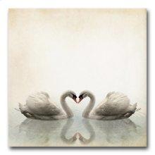 Swans 32x32 Giclee
