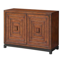 Jamaica Bay 2 Door Pattern Cabinet