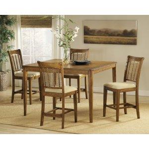 Hillsdale FurnitureBayberry 5pc Counter Height Set - Oak