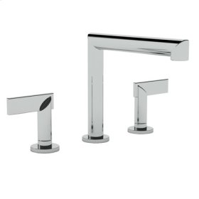 Flat Black Roman Tub Faucet