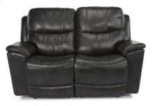 Cade Leather Power reclining Loveseats with Power Headrests