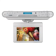 7 inch Widescreen TFT Under-the-Cabinet DVD/CD Player with ATSC Digital TV Tuner