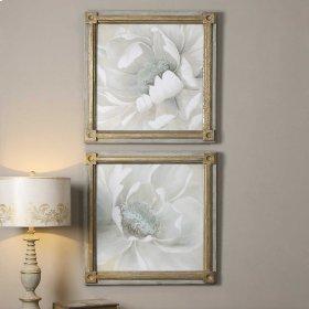 Winter Blooms Framed Prints, S/2
