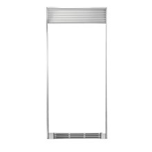 Frigidaire 79'' Louvered or 75'' Collar Stainless Steel Trim Kit