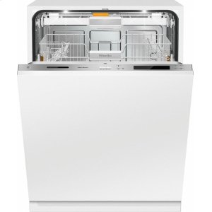 MieleG 6987 SCVi K2O AM Fully-integrated, full-size dishwasher with hidden control panel, 3D+ cutlery tray, Knock2open and custom panel ready