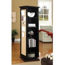 Casual Black Accent Cabinet
