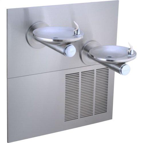 Elkay SwirlFlo Fountain Bi-Level ADA Non-Filtered, 8 GPH Stainless