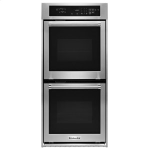 "KitchenAid24"" Double Wall Oven with True Convection - Stainless Steel"