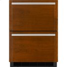 """Panel-Ready 24"""" Double-Refrigerator Drawers Product Image"""