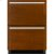 """Additional Panel-Ready 24"""" Double-Refrigerator Drawers"""