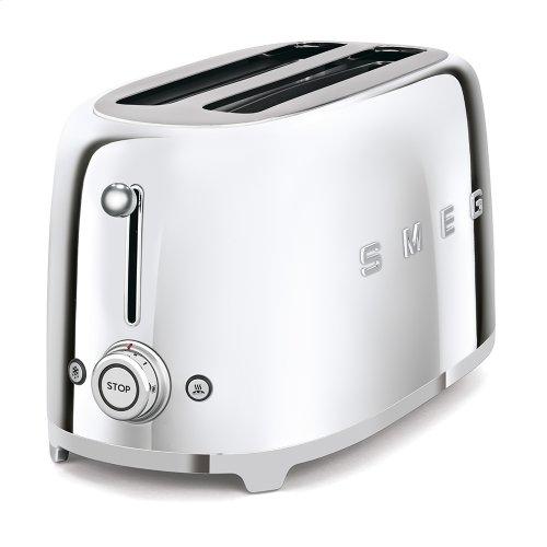 4x2 Slice Toaster, Chrome