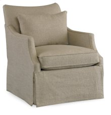 Living Room Azriel Skirted Club Chair
