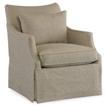 Living Room Azriel Skirted Club Chair