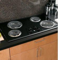"GE® 36"" Built-In Electric Cooktop"