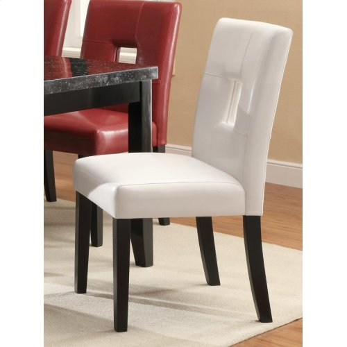 Newbridge Causal White Dining Chair