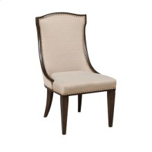 Grantham Hall Uph Side Chair -Kd