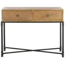 Julian 2 Drawer Console - Natural