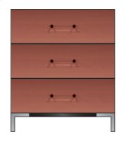 """28"""" 3-Drawer Bedside Chest Product Image"""